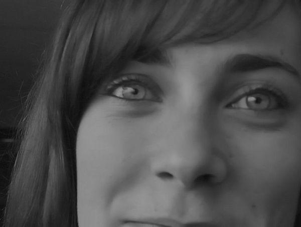 dans les yeux de Laurie ...