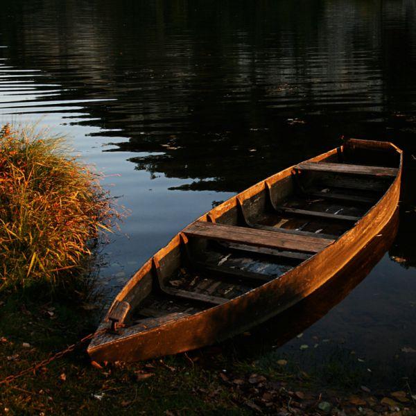 Barque sur le Lot