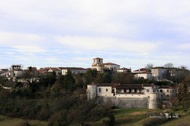 Ancienne cité médiévale, Pujols, 47