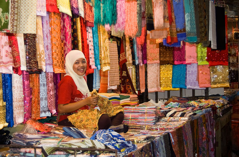 market Hat Yai Thailand