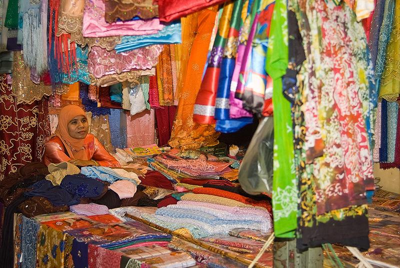 market markt Hat Yai Thailand