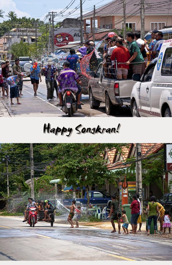 Songkran สงกรานต์ Thai New Year 2009