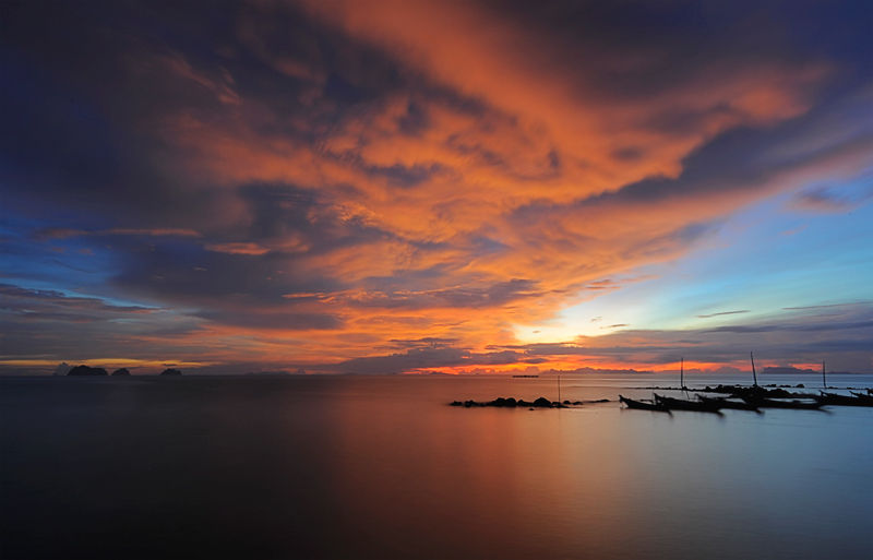 twilight Koh Samui Thailand