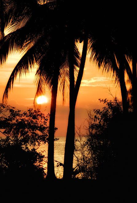 sunset Ban taling Ngam Koh Samui Thailand