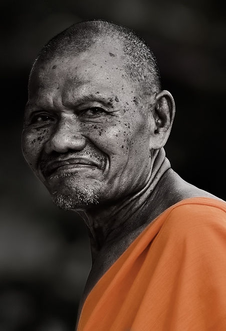 monk Wat Kiri Wongkaram