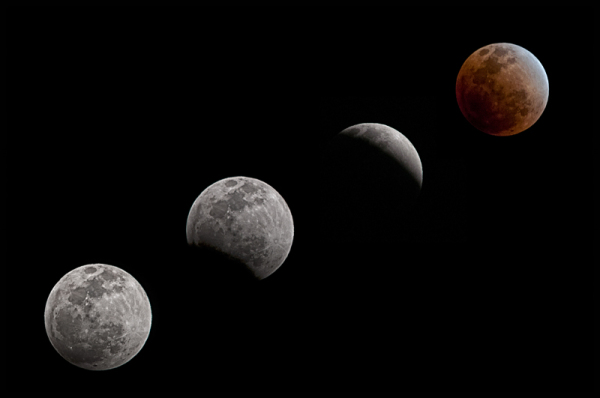 Total lunar eclipse December 10 2011