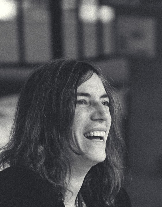Patti Smith in San Francisco after a reading