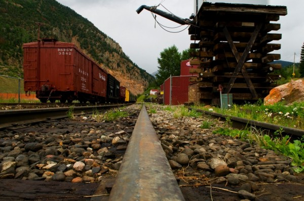 Old Railroad in Silver Plume, CO