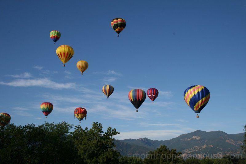 Balloon Festival - Mass Ascension