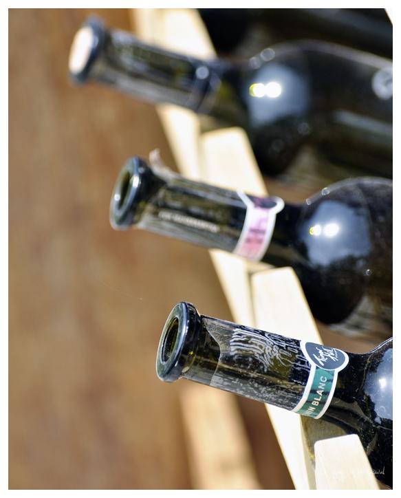 Empty Wine Bottles - 2/3