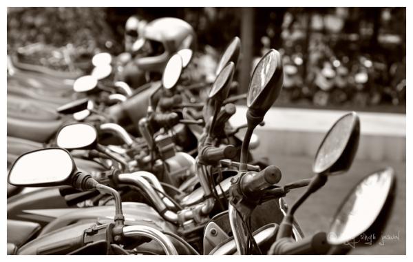 Mirror Mirror On The Bike