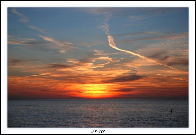 sea sky lucht