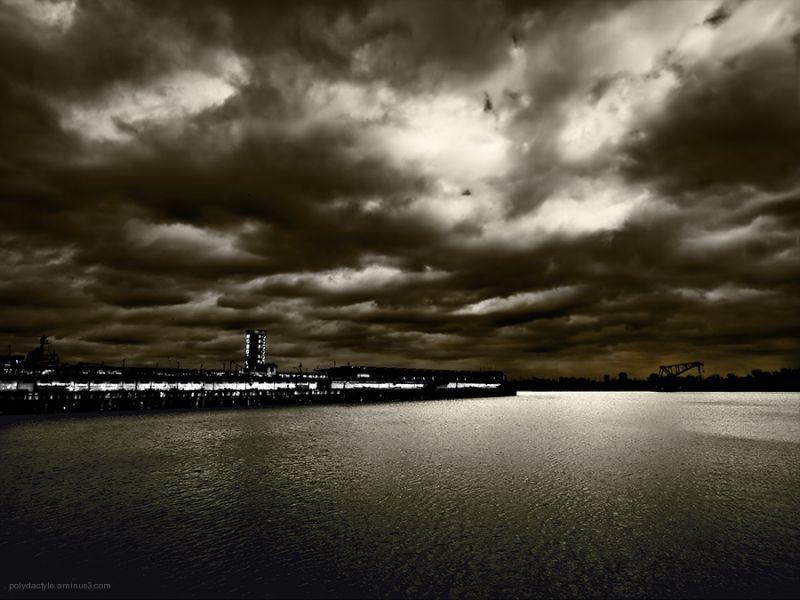 Nuit portuaire