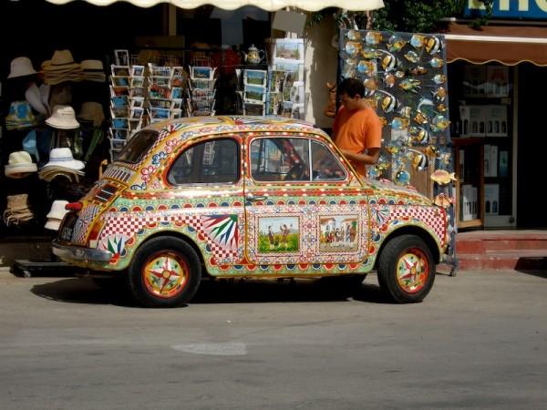 Fiat500 in a Sicilian Taste