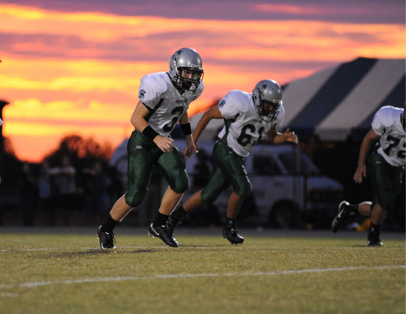 Kickoff at Sunset