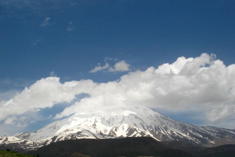 Iran- Alborz- Damavand peak