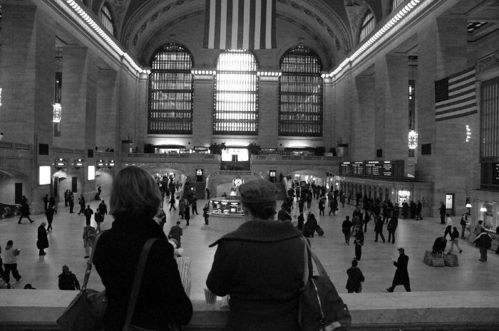 Coffee at Grand Central....