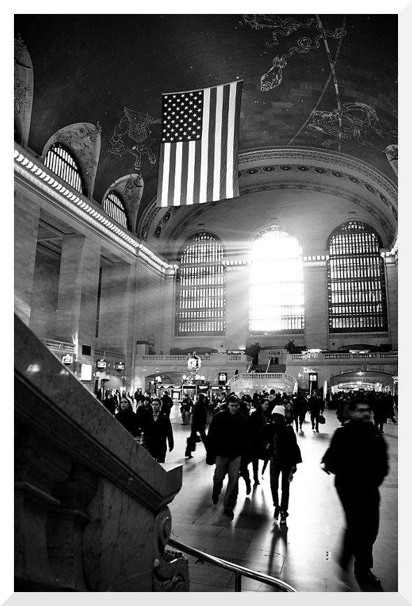 Grand Central in B&W