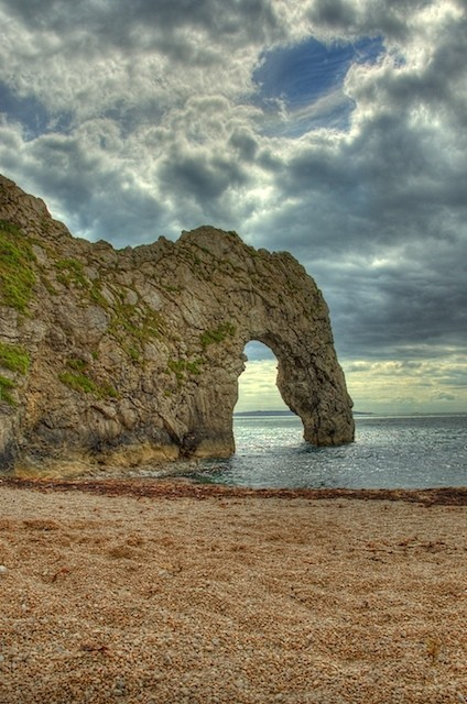 Durdle Door using HDR