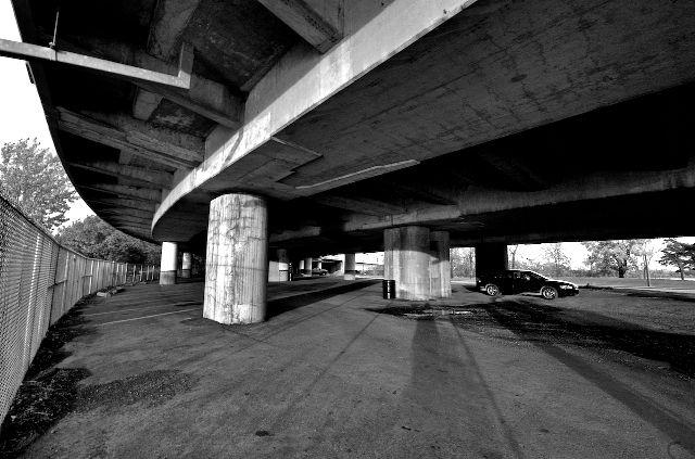 Deserted Underpass