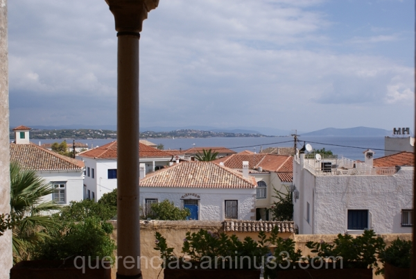 Mansion of Mexi's view, Spetses. Greece