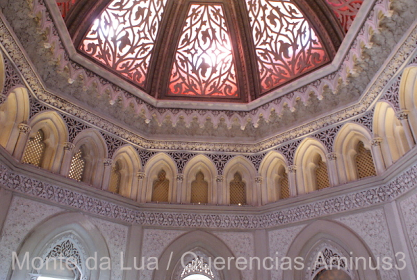 Central Hall in Monserrate Palace, Sintra.