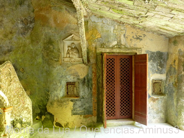 Porch of Convent of the Capuchos, Sintra. Portugal