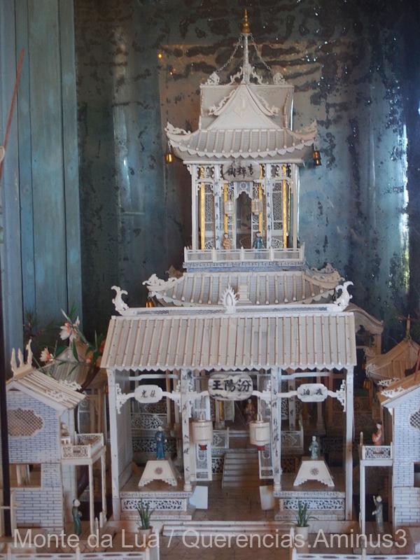 Chinese Pagoda, National Palace, Sintra. Portugal