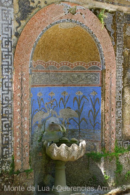 Balnearium Fountain, Quinta da Regaleira, Sintra.