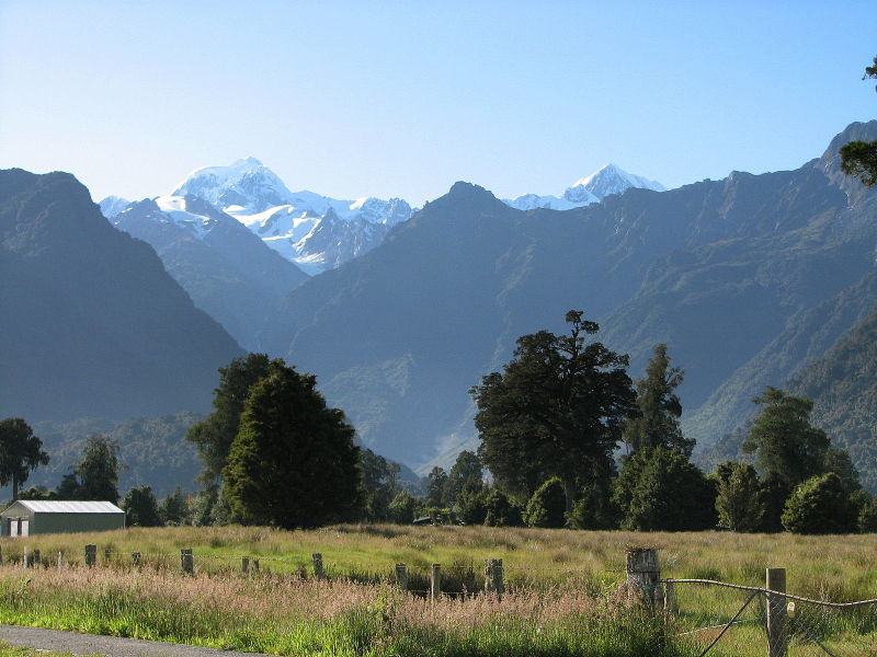 Mt Cook and Mt Tasman