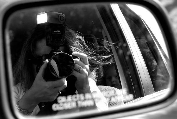 Objects in mirror.....