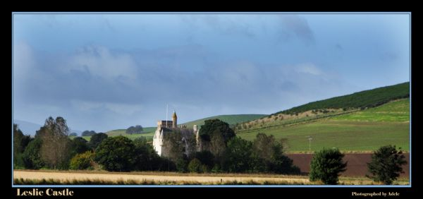 Leslie Castle by Adele