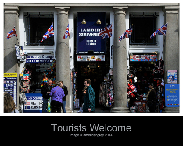 Tourists Welcome