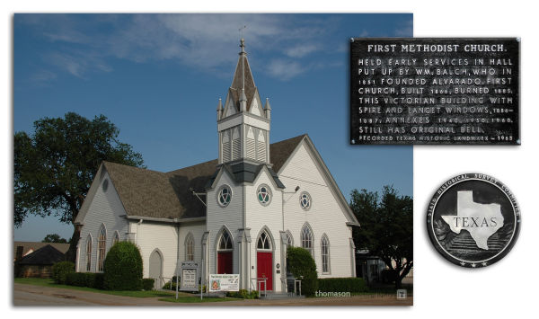 First united Methodist Church in Alvarado, TX