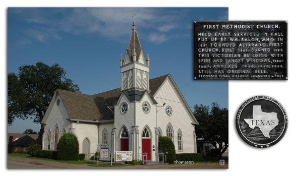 First united Methodist Church in Alvarado, TX