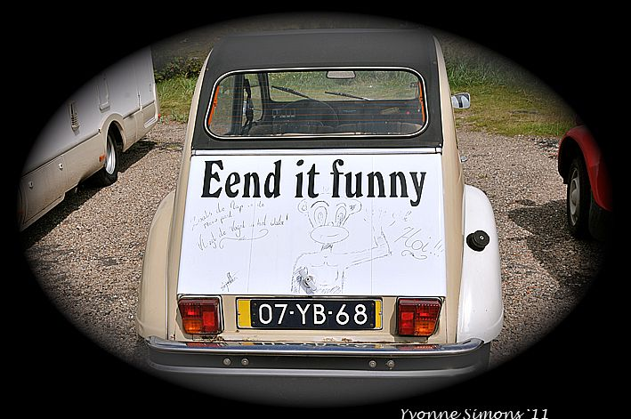 Silly tuesday, eend it funny?