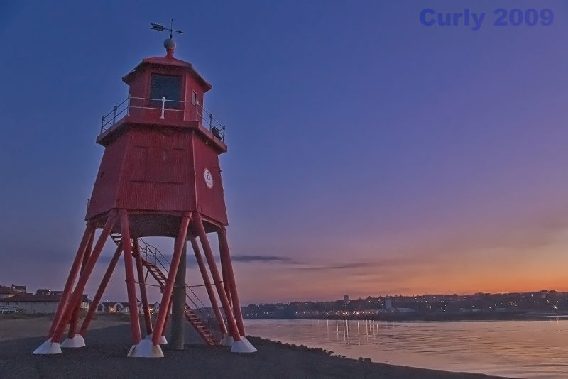 The Growne lighthouse, south shields