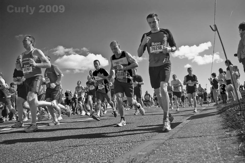 2009 Great North Run, South Shields