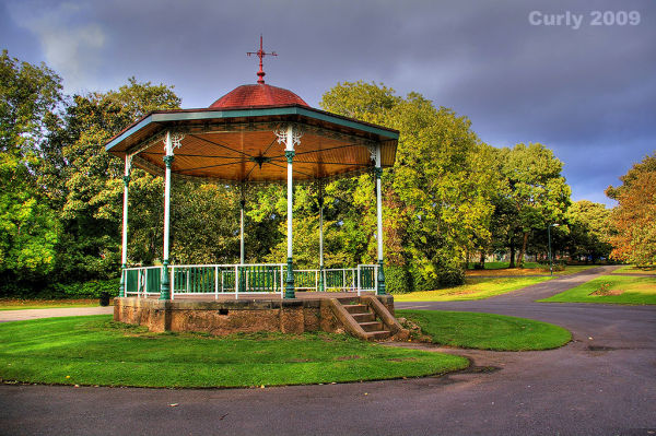 Bandstand in the West Park, South Shields