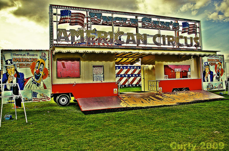 Uncle Sam's US Circus, South Shields
