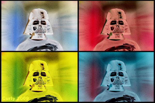 Darth Vadar mask, south shields