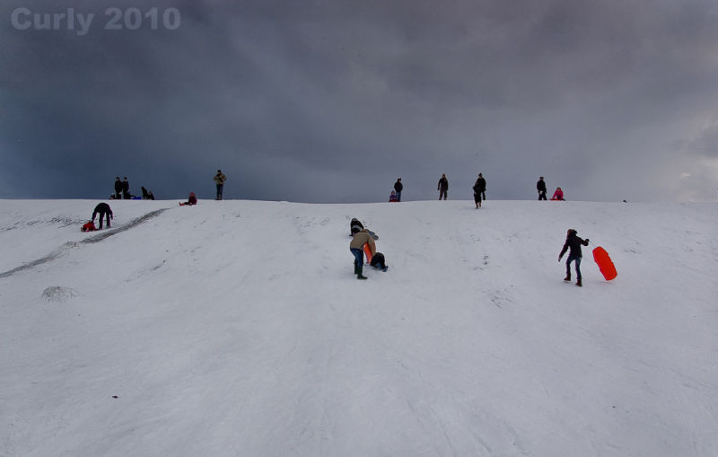 Sledging in South Shields