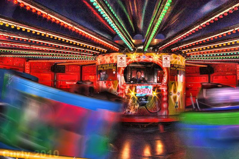 Waltzer Ocean Beach Amusement Park, South Shields