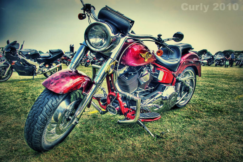 Motor bike, Bents Park, South Shields