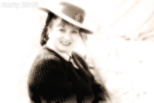 Land Army girl, Whitby 2010