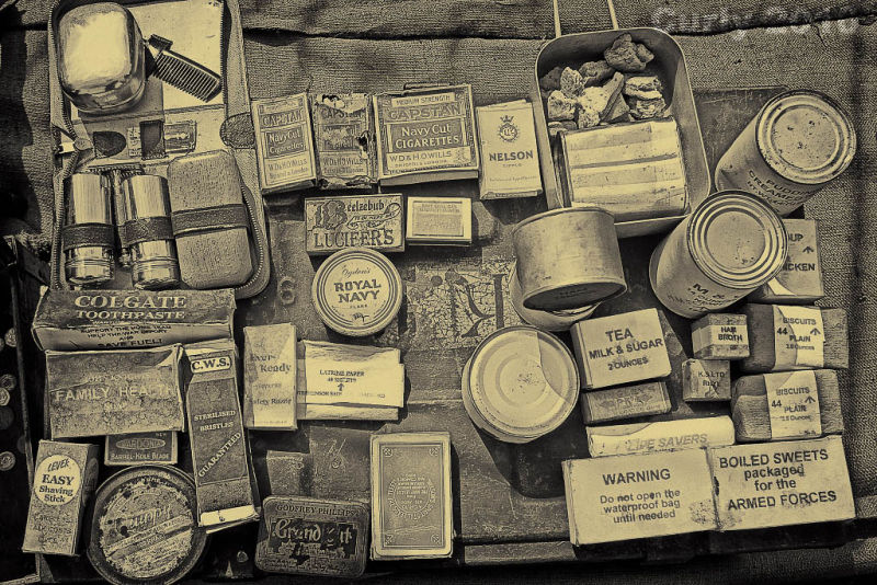 Ration packs Whitby 2010