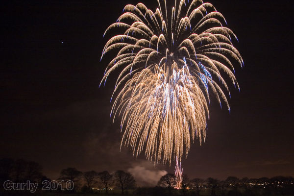 Guy Fawkes Night fireworks #1
