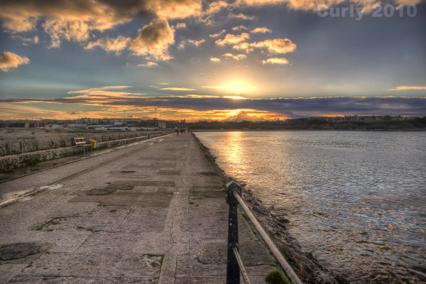 Harbour sunset (HDR)