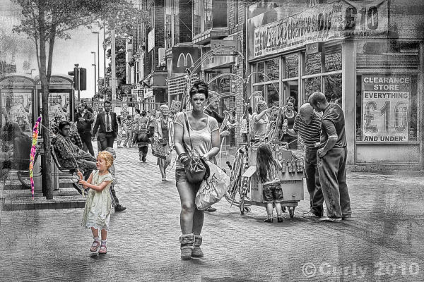 Street scene Middlesbrough