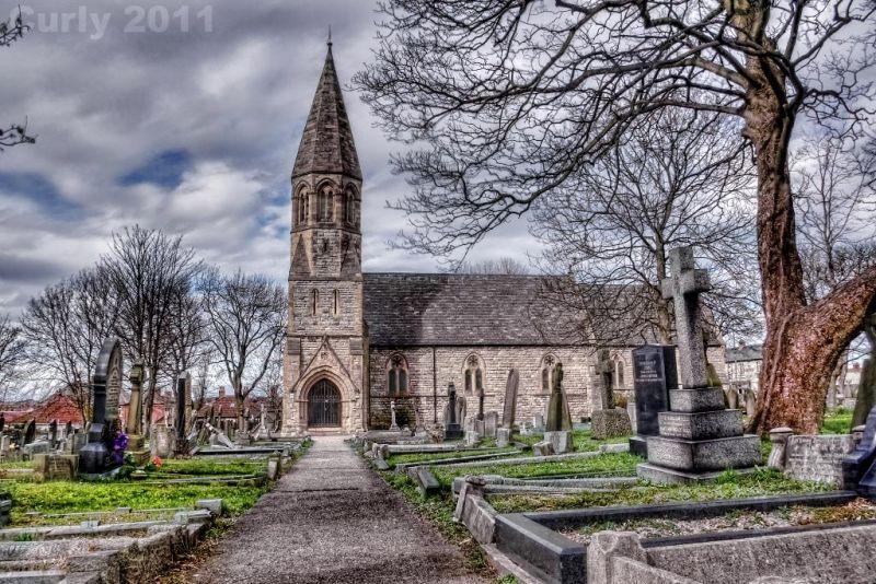 St. Peter's church, Harton, South Shields
